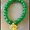 Thumbnail: Green Aventurine Lotus Bracelet