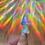 Thumbnail: Melting mushroom holographic sticker