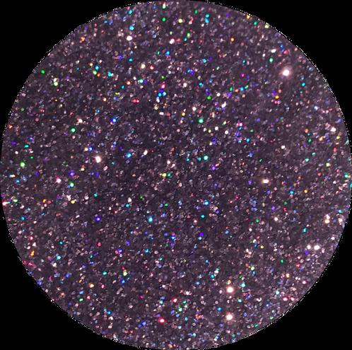 | Amethyst | Diamond Dust Glitter Hoops