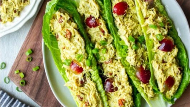 Chicken Salad with Red Grapes, Pecans & Green Onions - 16 oz & 32 oz