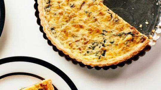 Quiche Sardou - Spinach, Artichoke & Onion