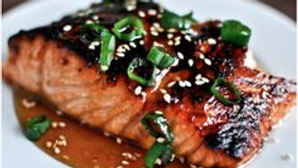 Grilled Soy Salmon