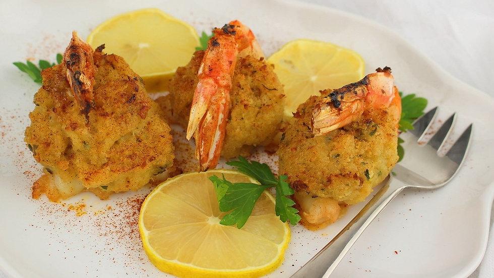 Crab Stuffed Jumbo Shrimp (6)