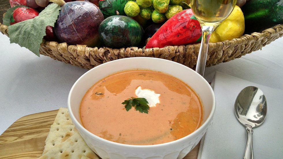 Lobster Bisque Soup - 16 oz or 32 oz