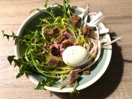 Salade de pissenlit à ma façon