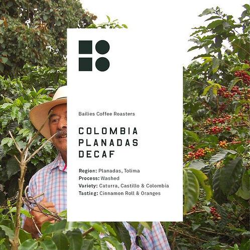 Decaf Colombia Planadas Tolima