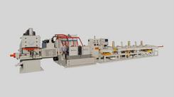 桂全機械-新開發「棒鋼加熱高速精密切斷機」
