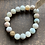 Thumbnail: Infinite Warrior Matte Amazonite + Druzy Quartz Bracelet