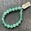 Thumbnail: Infinite Warrior Faceted Jade Bracelet