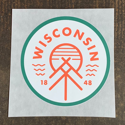 Wisconsin Native Sticker