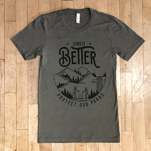 Leave it Better - Protect our Parks T-Shirt