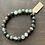 Thumbnail: Men's Infinite Warrior Olive Jasper Bracelet
