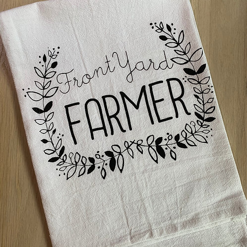 Front Yard Farmer Cotton Kitchen Towel