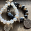 Thumbnail: Infinite Warrior Clear Quartz Ohm Bracelet