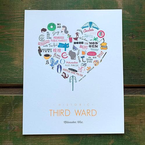 Third Ward Print (8x10)