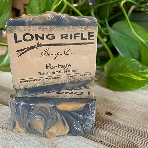 Portage - Pine + Woodsmoke Bath Soap