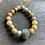 Thumbnail: Infinite Warrior Agate + Labradorite Bracelet