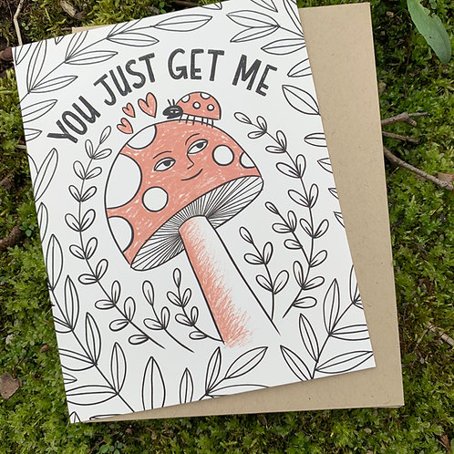 You Just Get Me Card