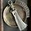 Thumbnail: Leather Tassel Keychain
