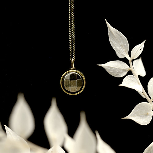 Mara | Pyrite Necklace