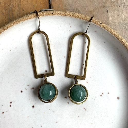Nixon   Jade Earrings