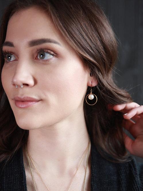 Tyan | Pearl Drop Earrings