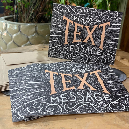 Vintage Text Message Boxed Set of Cards