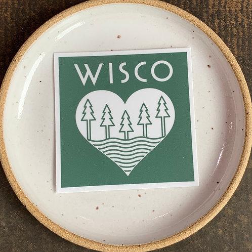 WISCO Roots Sticker