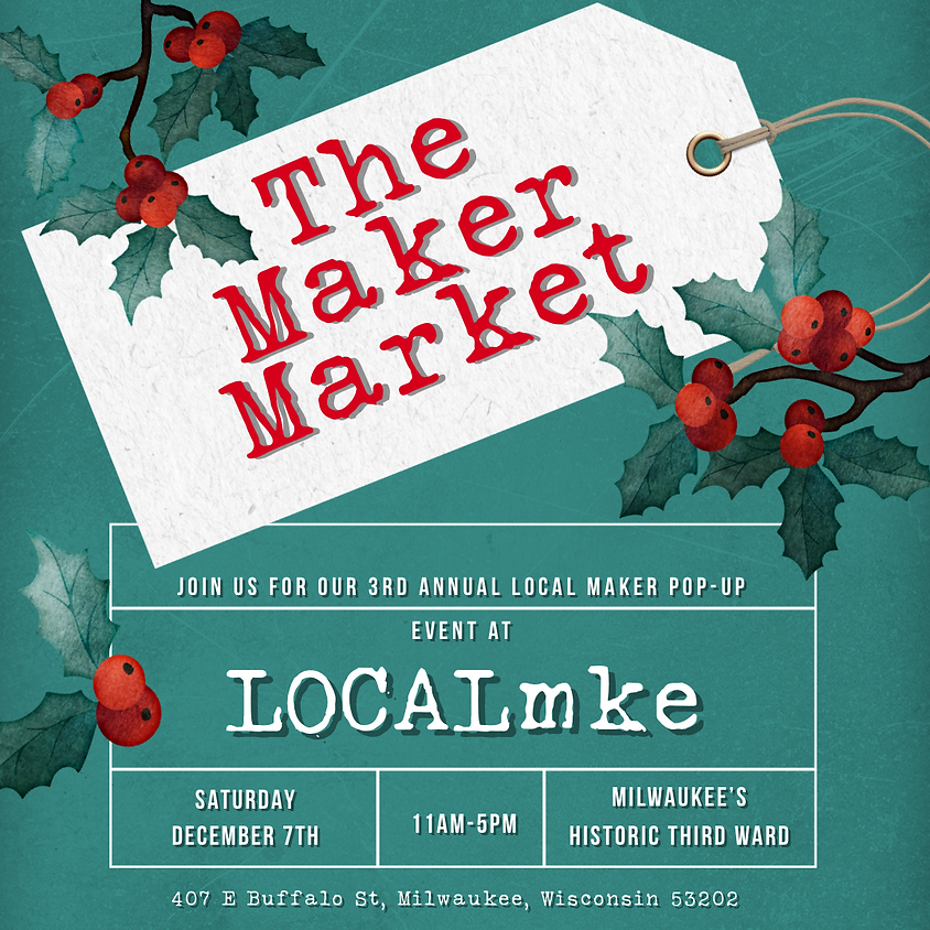 LOCALmke's Holiday Maker Market