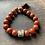 Thumbnail: Infinite Warrior Red Jasper + Pyrite Bracelet (10mm)
