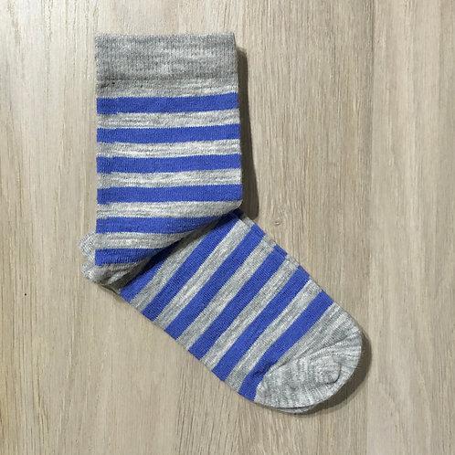 Alpaca Striped Simple Socks
