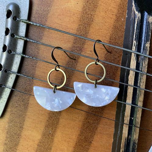 Mae | Lucite Earrings