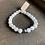 Thumbnail: Infinite Warrior Moonstone + Pyrite Bracelet