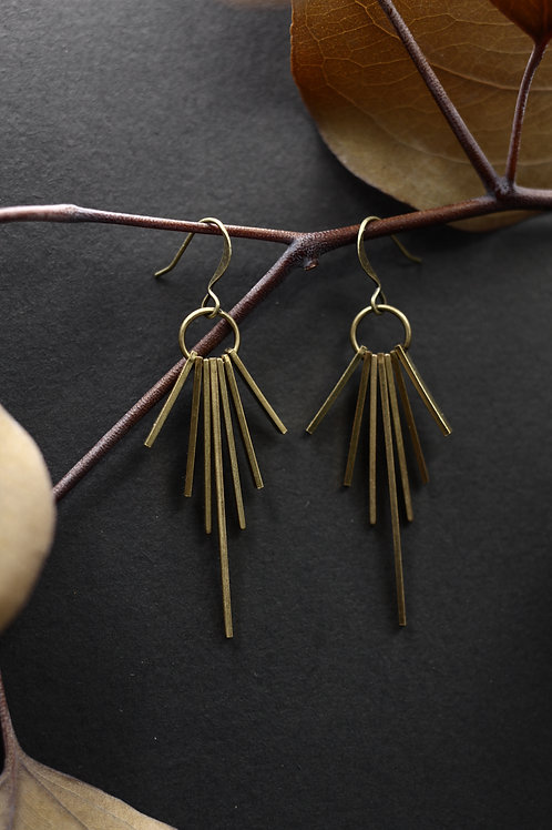 Yuki | Fringe Earrings