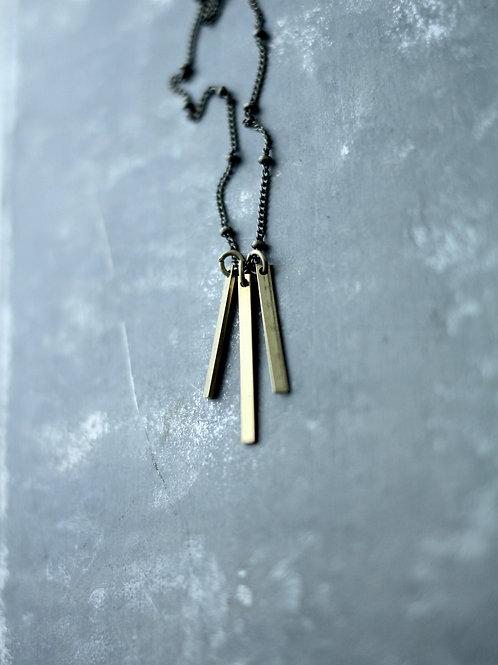 River | Cascading Bar Necklace