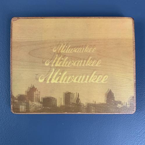Milwaukee Skyline Wall Art