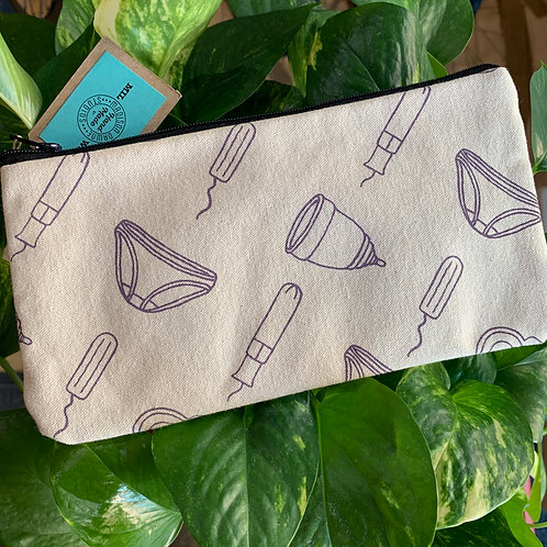 Women's Period Pouch - Purple Lady Things