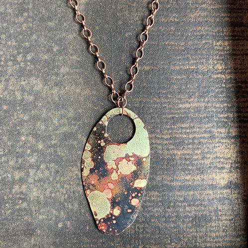 Brass Patina Necklace