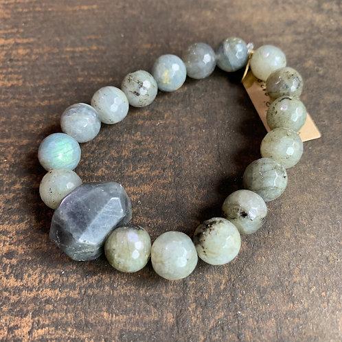Infinite Warrior Mystic Labradorite Bracelet