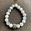 Thumbnail: Infinite Warrior Faceted Moonstone + Pyrite Bracelet