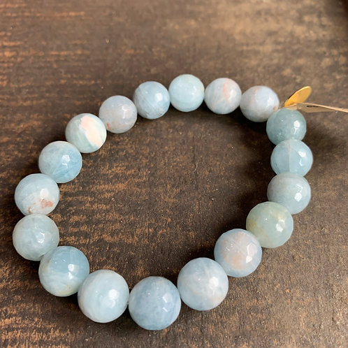 Infinite Warrior Aquamarine Bracelet