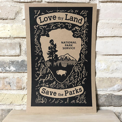 Love Thy Land Poster