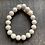 Thumbnail: Infinite Warrior Cream Fossil Agate Bracelet