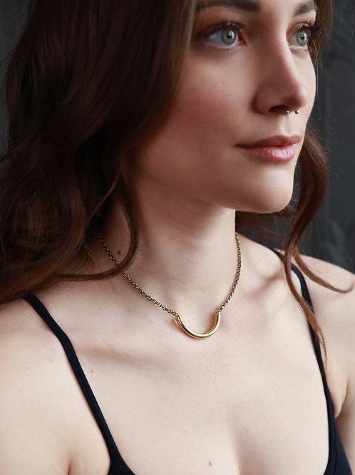 Lordes | Brass Necklace