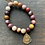 Thumbnail: Infinite Warrior Mookaite Jasper Bracelet + Thai Amulet