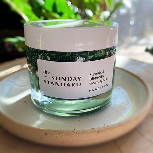 The Sunday Standard | Superfood Oil-to-Milk Cleansing Balm