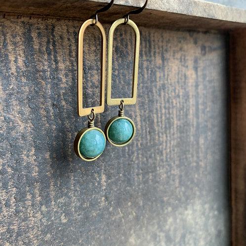 Nixon | Jade Earrings