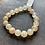 Thumbnail: Infinite Warrior Faceted Champagne Quartz Bracelet