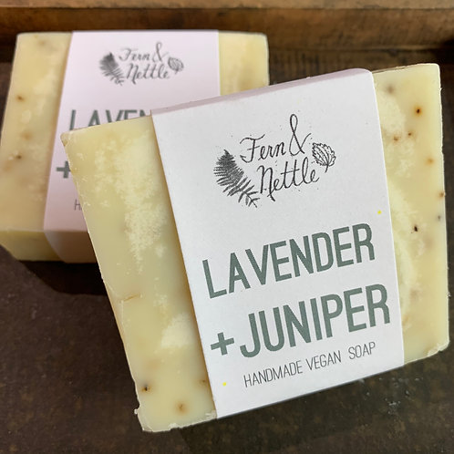 Lavender + Juniper Handmade Bar Soap