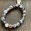 Thumbnail: Infinite Warrior Dragon Vein Agate Bracelet